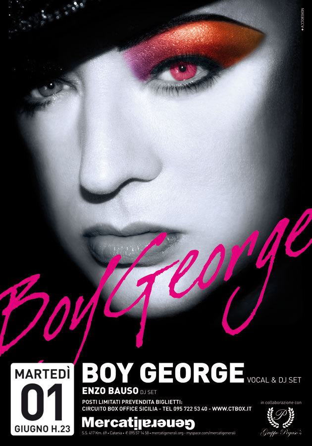 MercatiGenerali - Boy George
