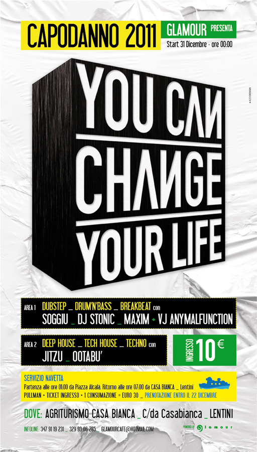 You can change your life / Poster