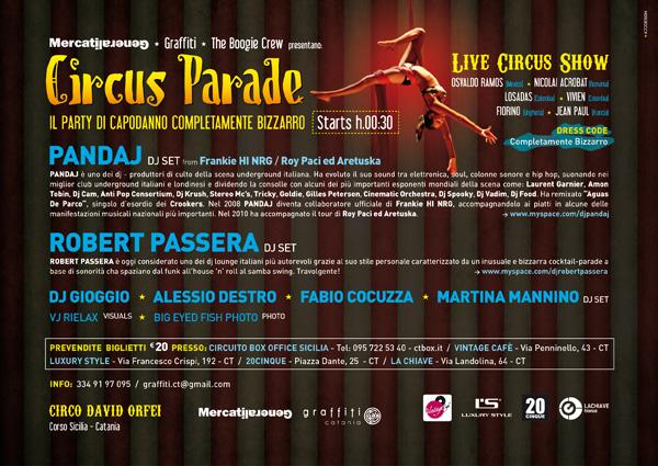 Mercati Generali / Circus Parade