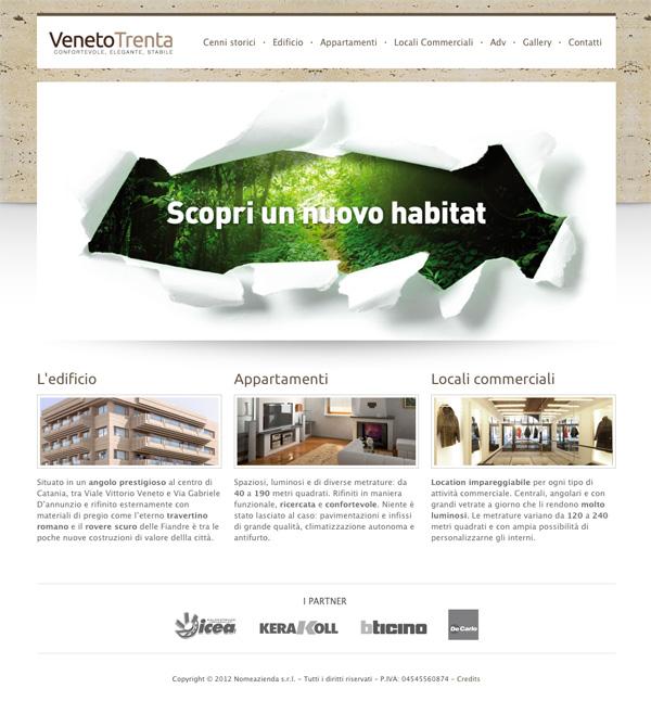 VenetoTrenta homepage